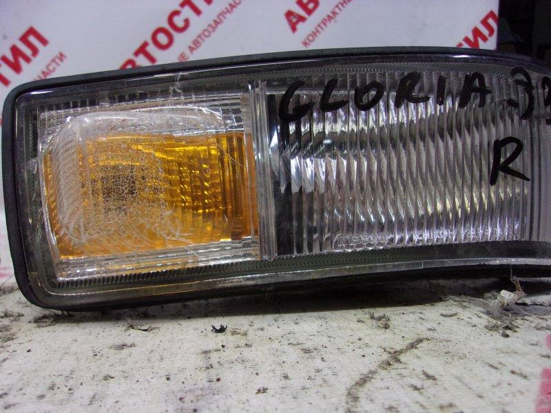 Поворотник бамперный Nissan Gloria HBY33, HY33, PY33, PY33E, Y33, UY33 VQ30DET 1995 правый