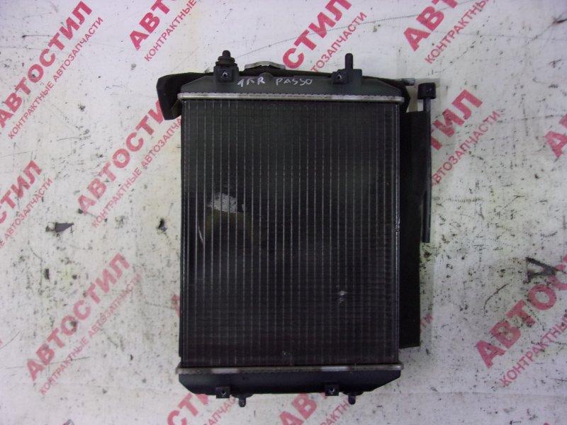 Радиатор основной Toyota Passo KGC10, KGC15,QNC10 1KR 2008