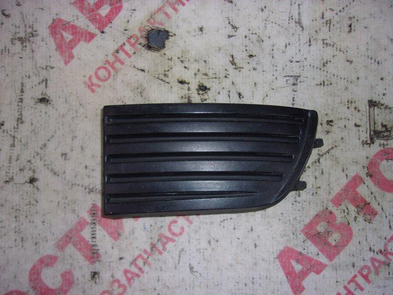 Заглушка бампера Nissan Primera HNP11, HP11, P11, QP11,WHNP11, WHP11, WP11, WQP11 QG18 1999 передняя левая