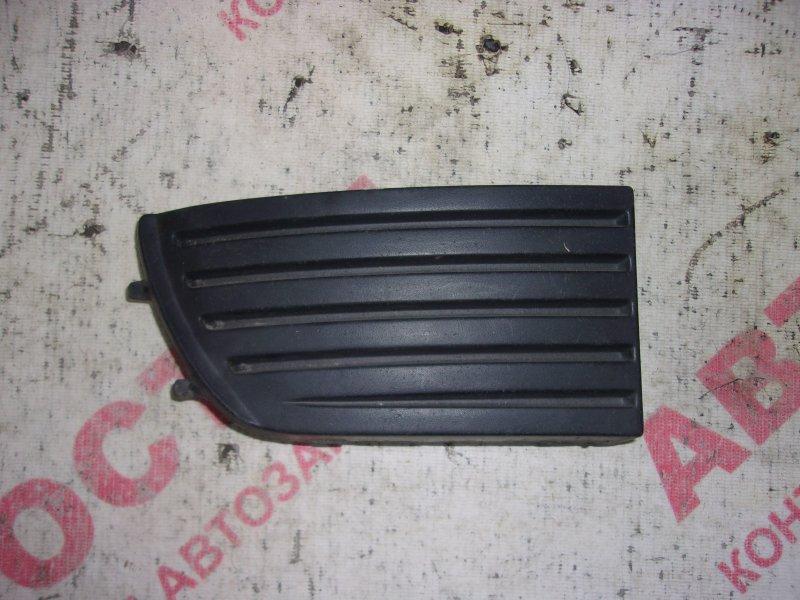 Заглушка бампера Nissan Primera HNP11, HP11, P11, QP11,WHNP11, WHP11, WP11, WQP11 QG18 1999 передняя правая