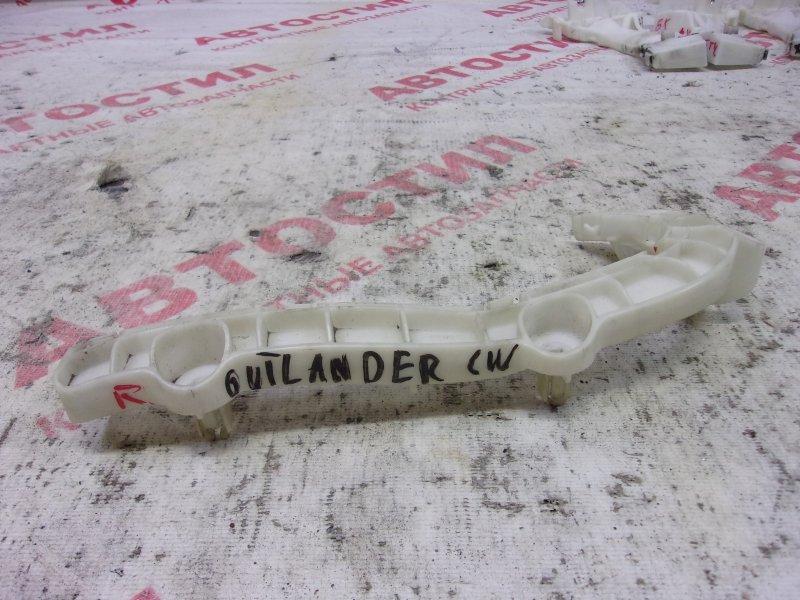 Крепление бампера Mitsubishi Outlander CW4W,CW5W,CW6W 4B12 2006 переднее правое