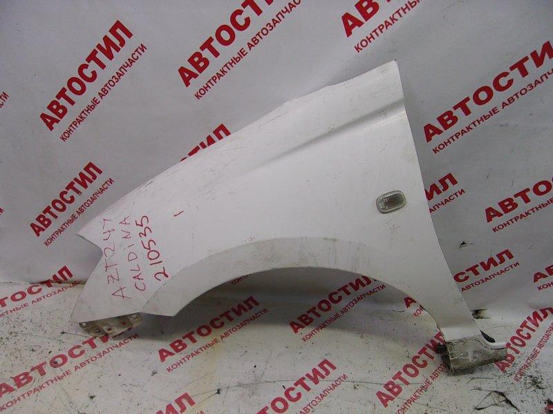 Крыло Toyota Caldina ZZT241W, ST246W, AZT241W, AZT246W 1ZZ 2003 переднее левое