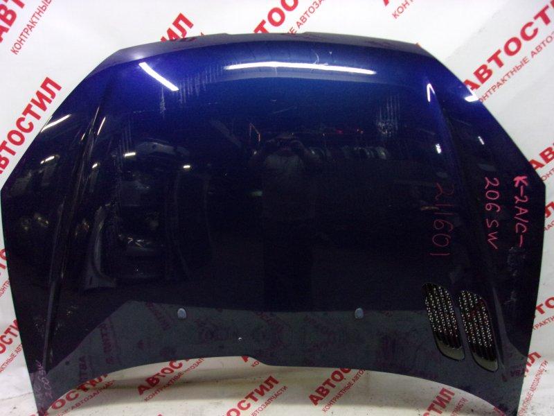 Капот Peugeot 206 VF32 TU5JP4 2005