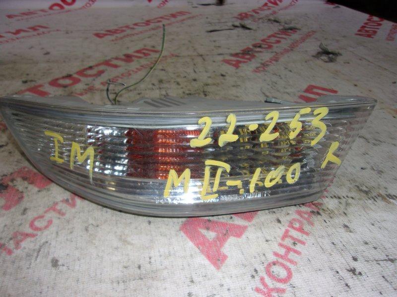 Повторитель бамперный Toyota Markii GX100, GX105, JZX100, JZX101, JZX105, LX100 1G 1996 правый