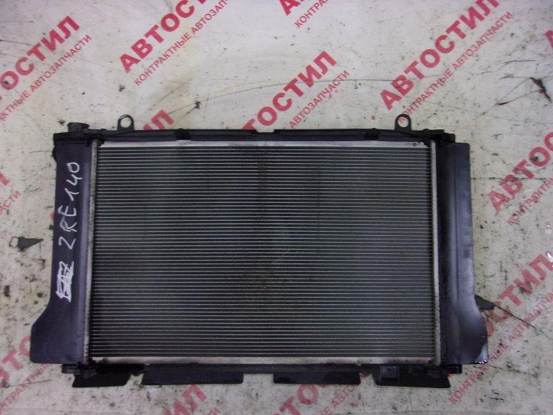 Радиатор основной Toyota Corolla Axio NZE141, NZE144, ZRE142, ZRE144 1ZR 2008