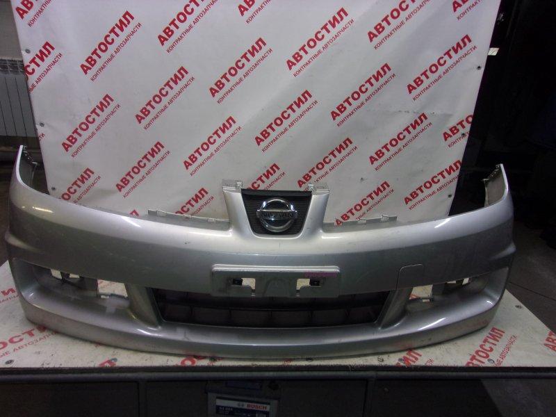 Бампер Nissan Wingroad JY12, NY12, Y12 HR15 2007 передний