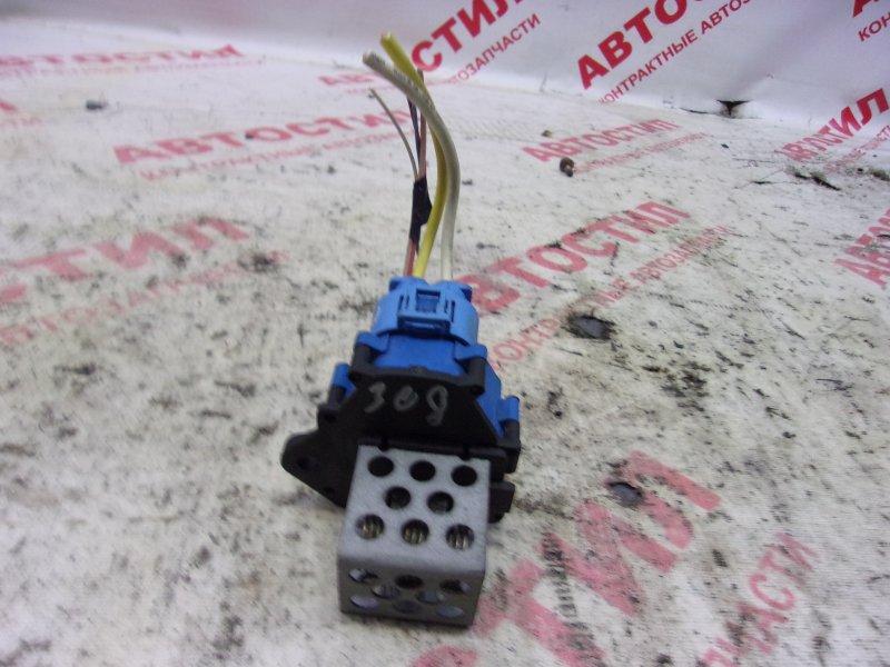 Блок управления вентилятором охлаждения двс Peugeot 308 VF34C EP6DT 2008