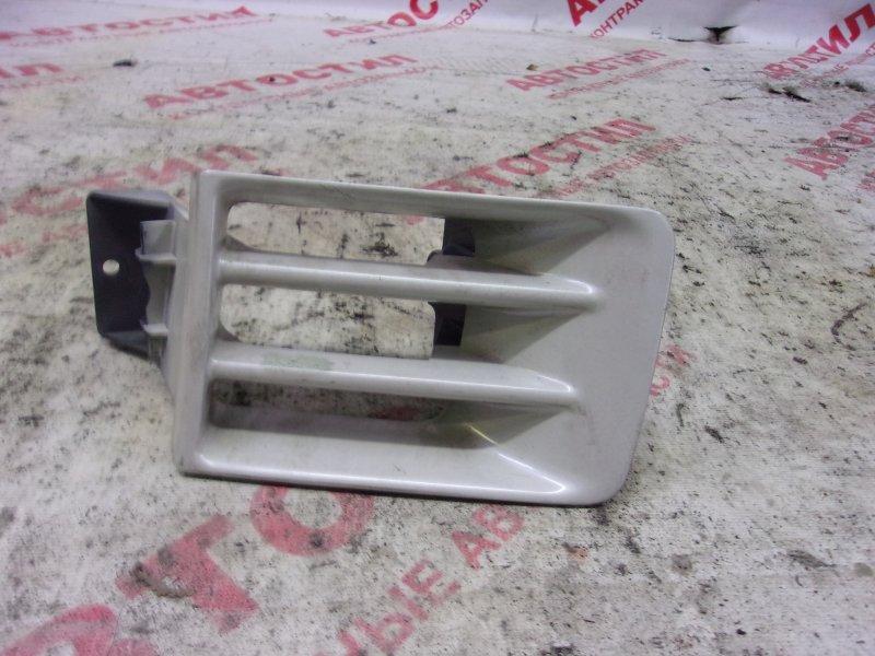 Заглушка бампера Mitsubishi Chariot Grandis N84W, N86W, N94W, N96W 4G64 2000 передняя левая