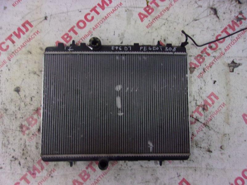 Радиатор основной Peugeot 308 VF34C EP6DT 2008