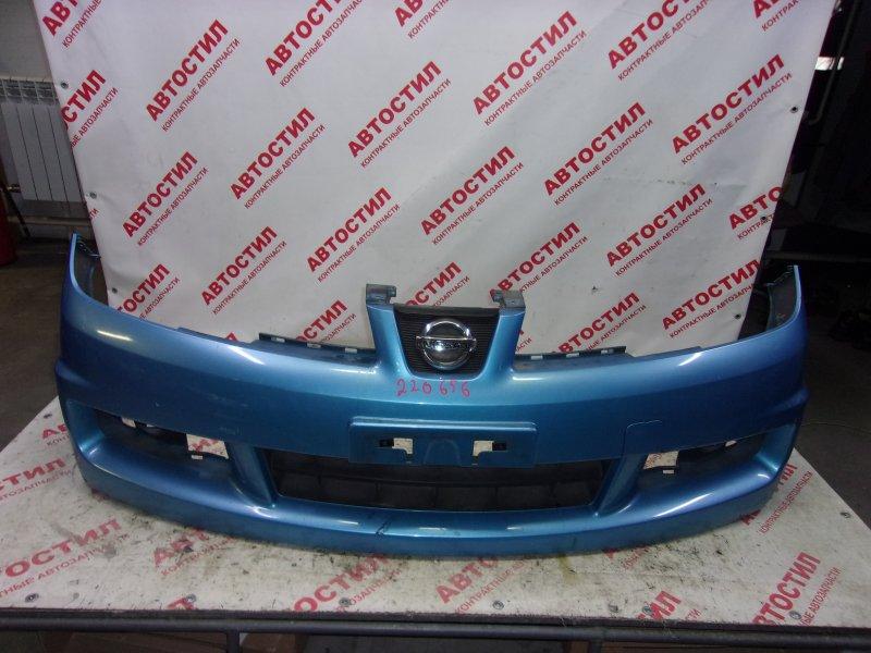Бампер Nissan Wingroad JY12, NY12, Y12 HR15 2008 передний