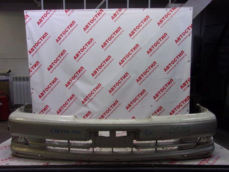 Бампер Toyota Cresta GX100, GX105, JZX100, JZX101, JZX105, SX100, LX100 1G 2000 передний