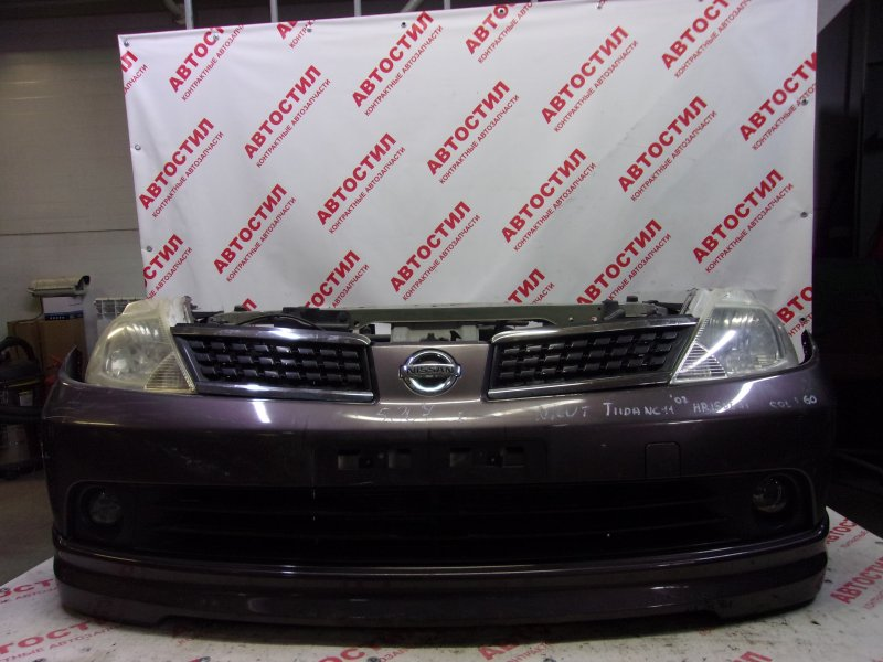 Nose cut Nissan Tiida SJC11, SC11, SNC11 HR15 2005
