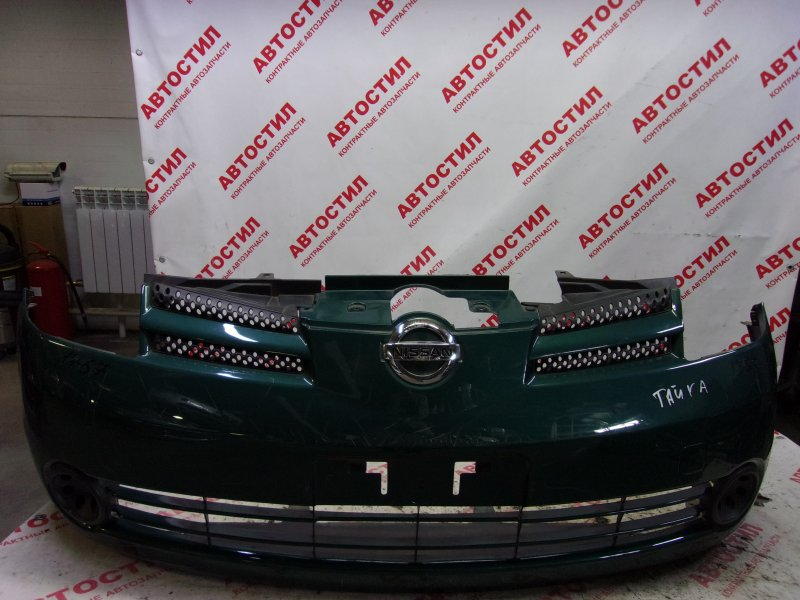 Бампер Nissan Note ZE11, E11, NE11 HR15 2005 передний