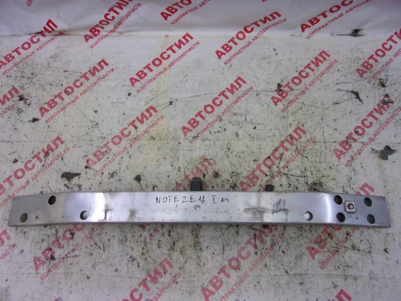 Усилитель бампера Nissan Note ZE11, E11, NE11 HR15 2005 передний