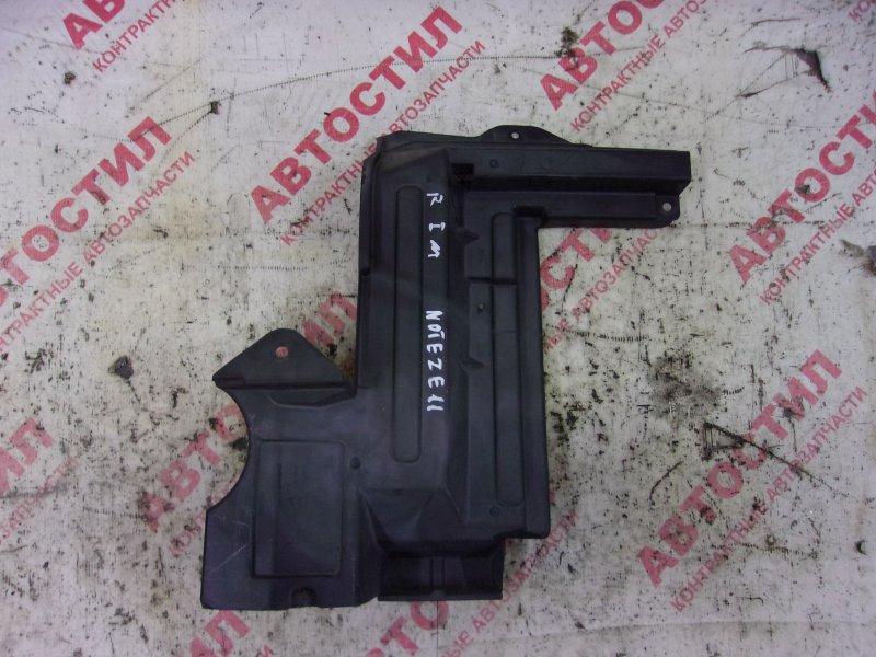 Дефлектор радиатора Nissan Note ZE11, E11, NE11 HR15 2005 правый