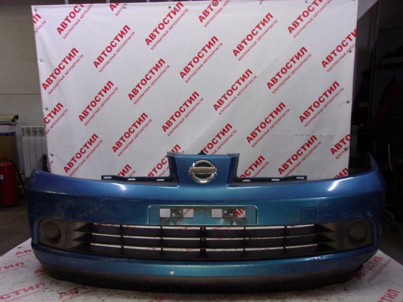 Бампер Nissan Tiida JC11, C11, JC11, NC11,SJC11, SC11, SJC11, SNC11 HR15 2005 передний