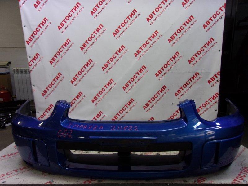 Бампер Subaru Impreza GG2, GG3, GG9, GGA,GDC, GDD, GD2, GD3,GGC.GDA EJ15 2003 передний