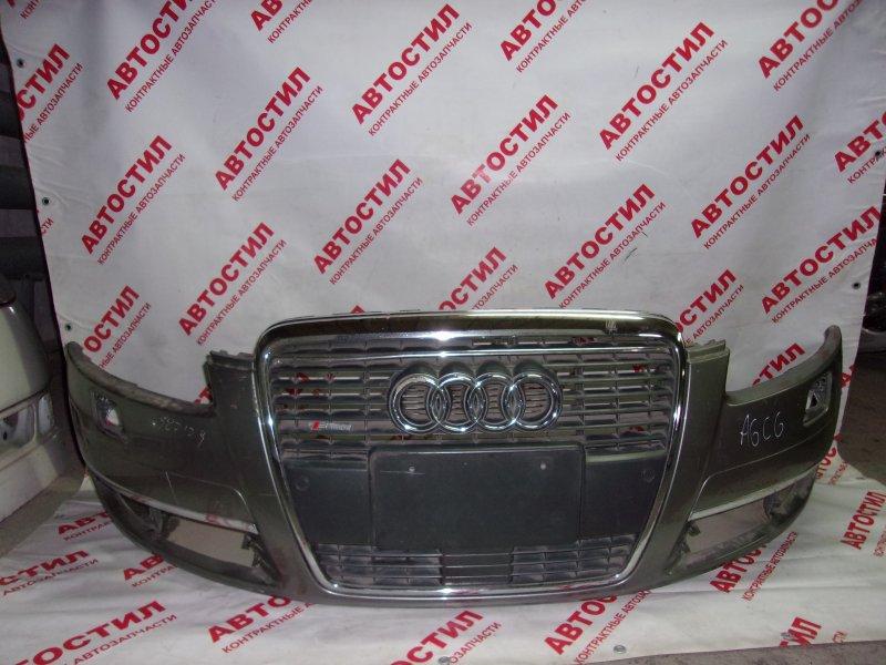 Бампер Audi A6 C6 AUK 2004-2008 передний