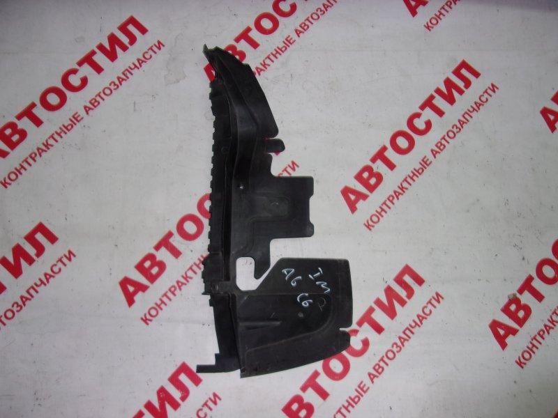 Дефлектор радиатора Audi A6 C6 AUK 2005-2008 правый
