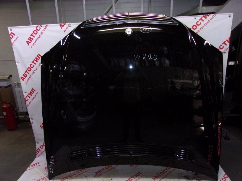 Капот Mercedes-Benz S-Class W220 M 112 E37 2003