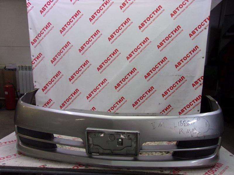 Бампер Nissan Liberty RM12, RNM12, RM12, RNM12 QR20 2003 передний