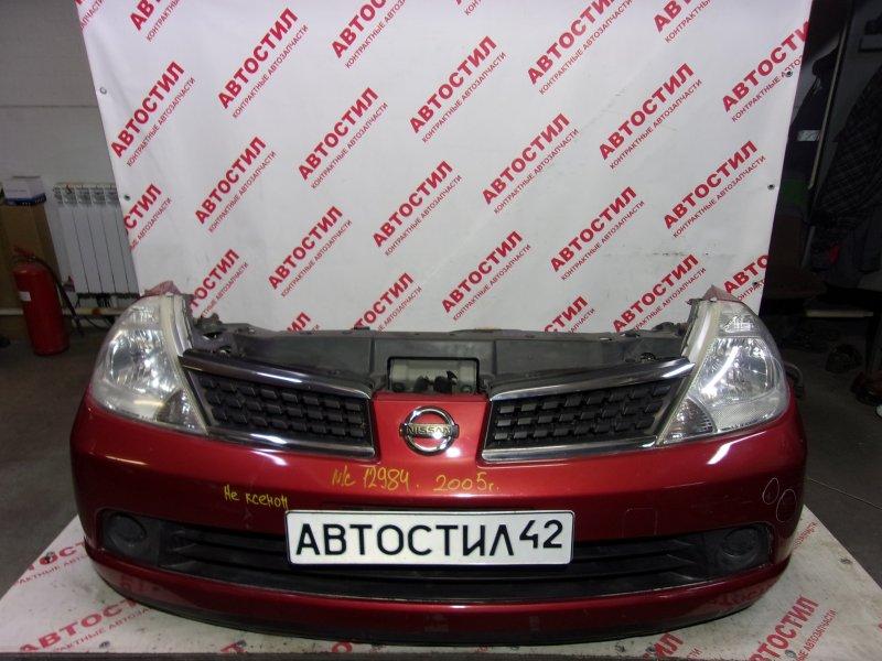 Nose cut Nissan Tiida C11, JC11, NC11,SJC11, SC11, SNC11 HR15 2005
