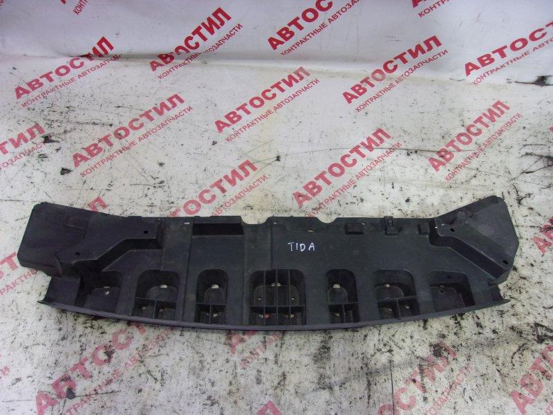 Защита двс пластик Nissan Tiida C11, JC11, NC11,SJC11, SC11, SNC11 HR15 2005 передняя