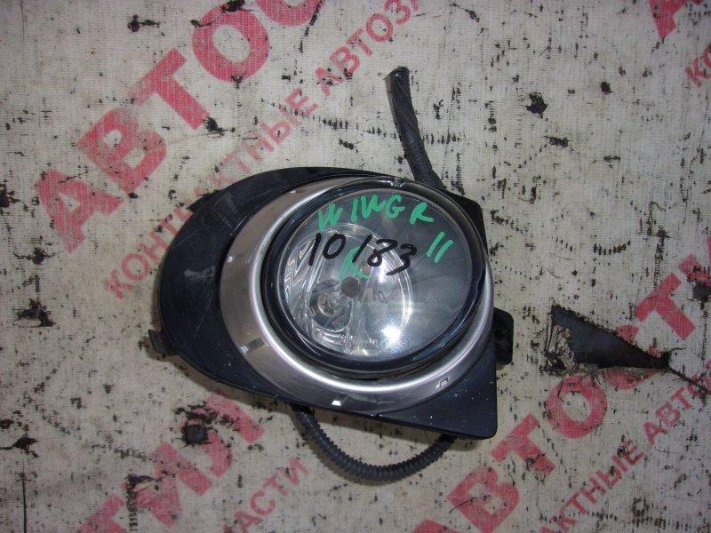 Туманка Nissan Wingroad WFY11, WHNY11, WHY11, WPY11,WRY11 QG15 2003 правая