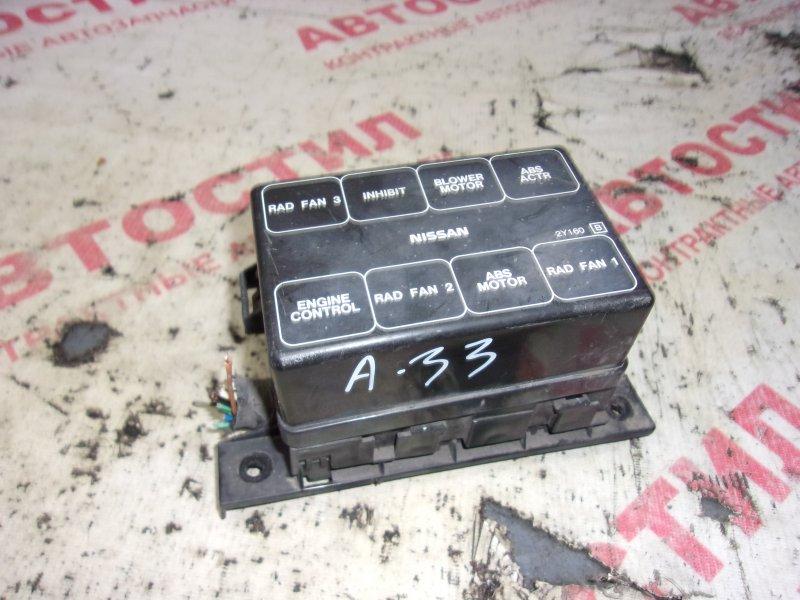 Блок предохранителей Nissan Cefiro A33, PA33 VQ20 1999