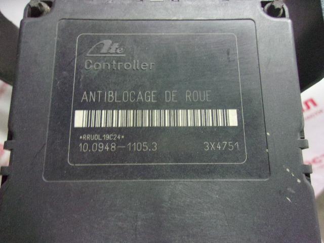 Блок abs Peugeot 206 VF32 TU3JP 2000