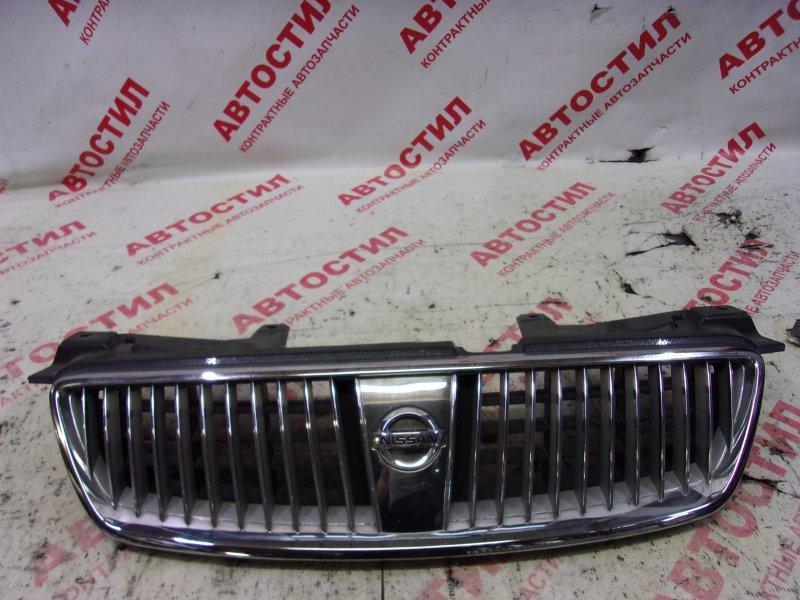 Решетка радиатора Nissan Bluebird Sylphy TG10, FG10, QNG10, QG10 QG15 2003