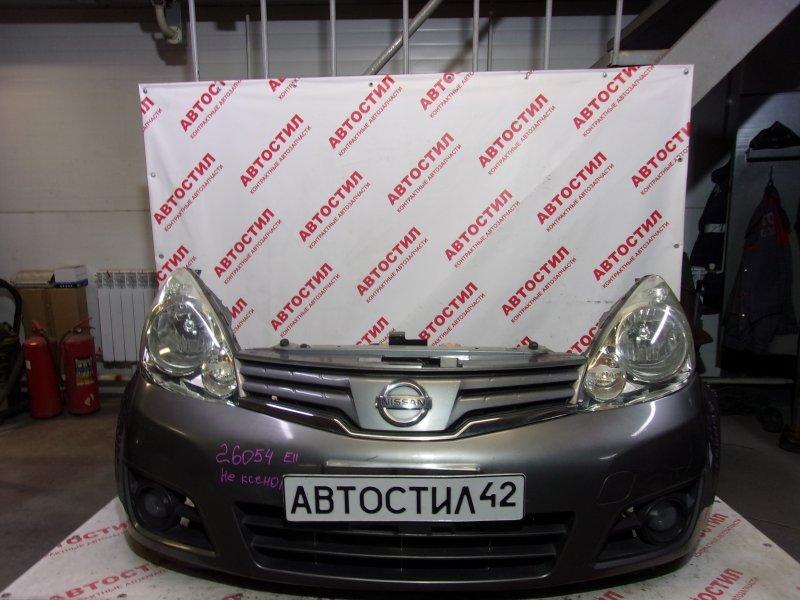 Nose cut Nissan Note ZE11, E11, NE11 HR15 2009