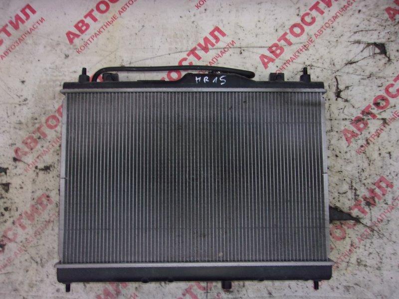 Радиатор основной Nissan Tiida C11, JC11, NC11,SJC11, SC11, SNC11 HR15 2009