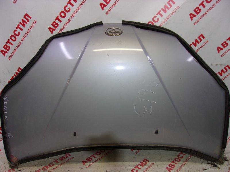 Капот Toyota Prius NHW11 1NZ-FXE 2001