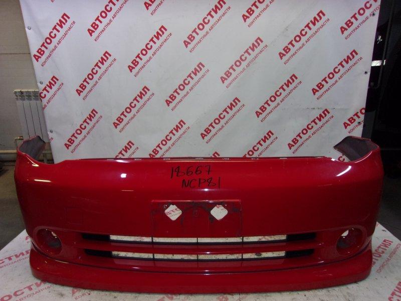 Бампер Toyota Sienta NCP81G, NCP85G 1NZ 2004 передний