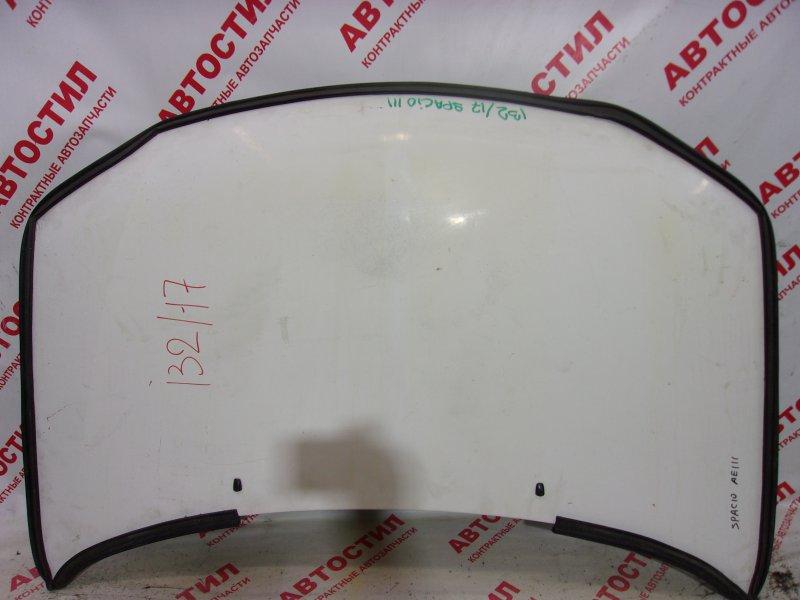 Капот Toyota Spacio AE111N, AE115N 4A 1999