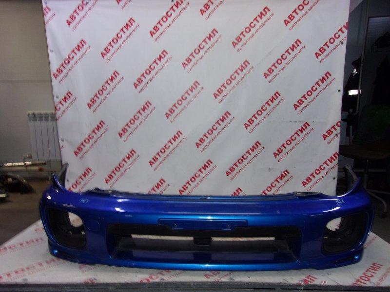 Бампер Subaru Impreza GG2, GG3, GG9, GGA,GDC, GDD, GD2, GD3,GGC EJ20 2000-2002 передний