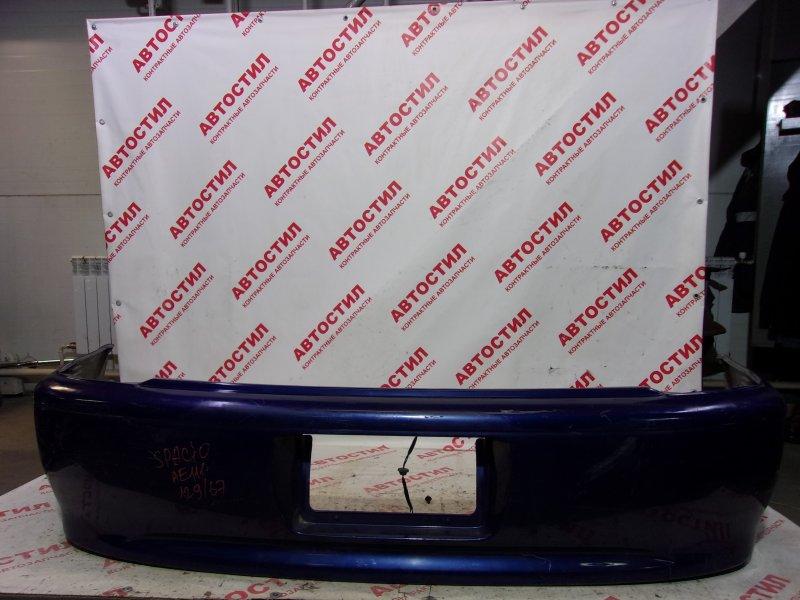 Бампер Toyota Spacio AE111N, AE115N 4A 1999 задний
