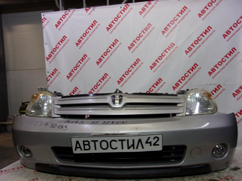 Nose cut Toyota Ist NCP60, NCP61, NCP65 1NZ 2004