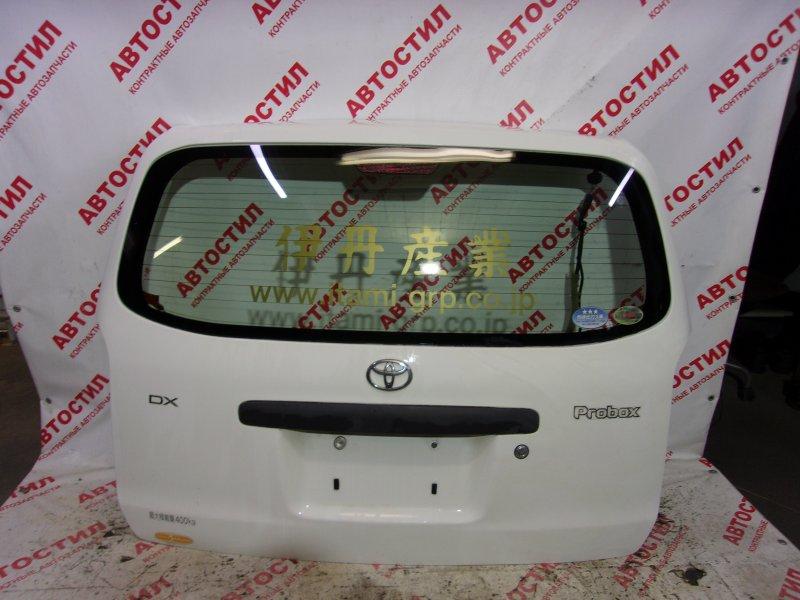 Дверь задняя Toyota Probox NCP50V, NCP51V, NCP55V, NCP52V, NLP51V,NCP58G, NCP59G 1NZ 2005