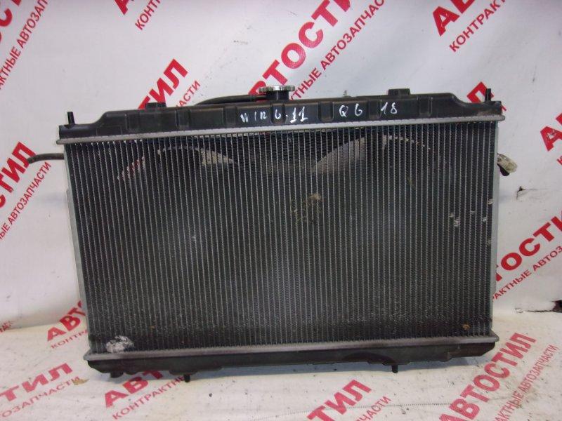 Радиатор основной Nissan Wingroad WFY11, WHNY11, WHY11, WPY11,WRY11 QG18 2003