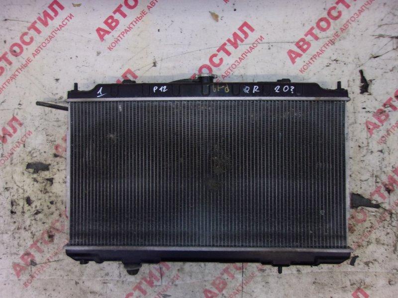 Радиатор основной Nissan Primera HP12, RP12, TNP12, TP12, QP12,WHP12, WRP12, WTNP12, WTP12 QR20 2002