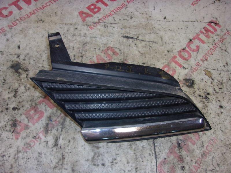 Решетка радиатора Nissan Primera HP12, RP12, TNP12, TP12, QP12,WHP12, WRP12, WTNP12, WTP12 QR20 2002 правая