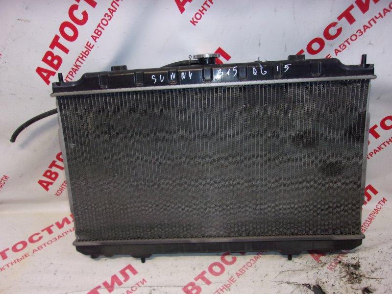 Радиатор основной Nissan Sunny B15, FB15, FNB15, JB15, QB15, SB15 QG15 1999