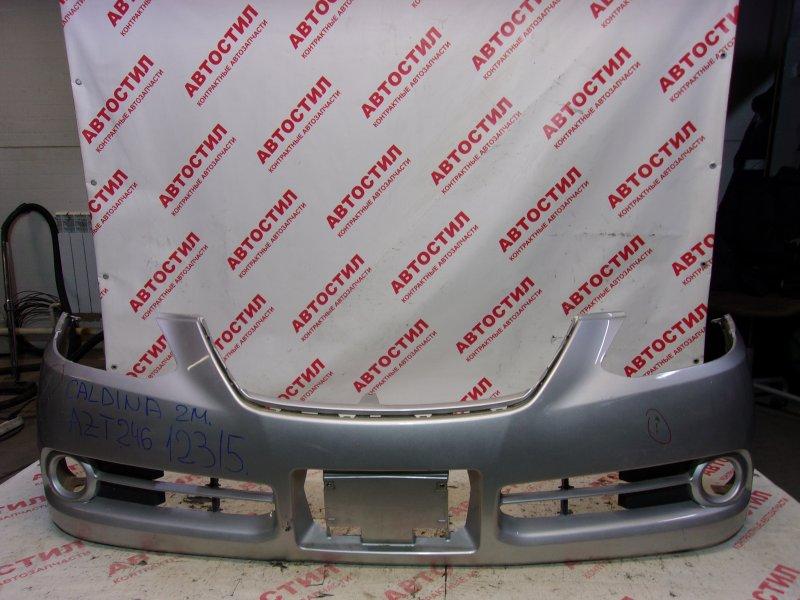 Бампер Toyota Caldina ZZT241W, ST246W, AZT241W, AZT246W 1ZZ 2007 передний
