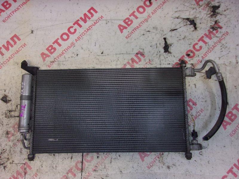 Радиатор кондиционера Nissan March AK12, BK12, BNK12, K12,YK12 CR12 2005