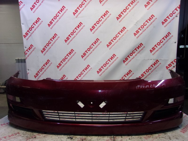 Бампер Toyota Ipsum ACM21W, ACM26W 2AZ 2007 передний