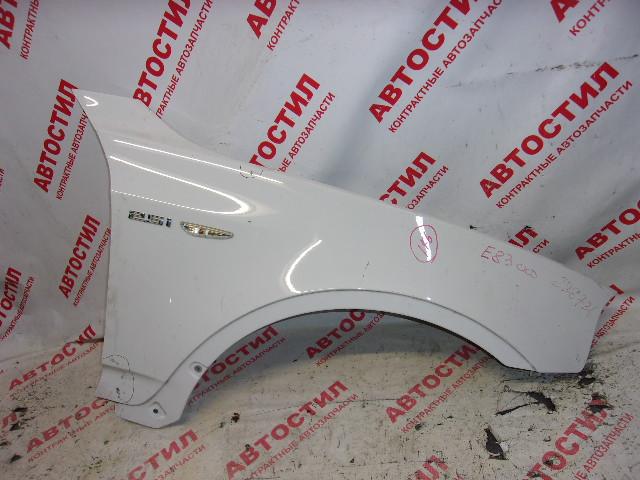Крыло Bmw X3 E83 M54B25 2005 переднее правое