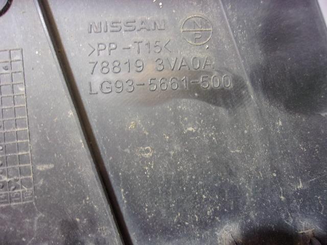 Подкрылок Nissan Note E12, NE12 HR12 2012-2016 задний левый