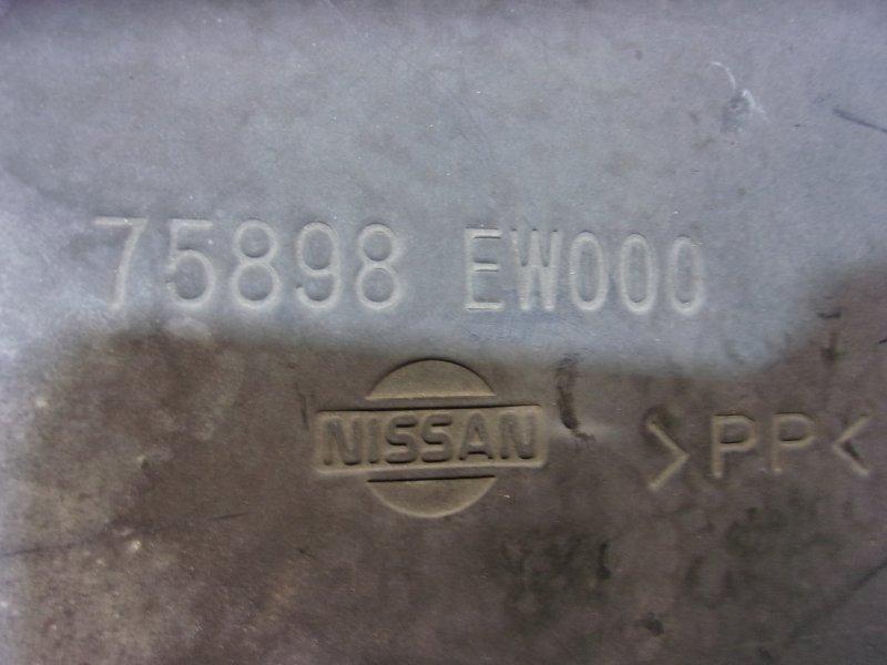 Защита бампера Nissan Bluebird Sylphy G11, KG11, NG11 HR15 2005-2012 передняя